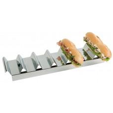 Mbajtse sendviqave inox